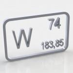 Химический элемент вольфрам, свойства вольфрама, химический знак вольфрама, обозначение вольфрама