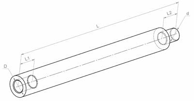 Молибден, электрод, схема, чертеж, размеры, эскиз