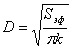 Диаметр, электрод, формула, вычисление, молибден